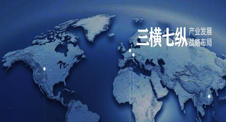 三横七纵产业发展布局规划